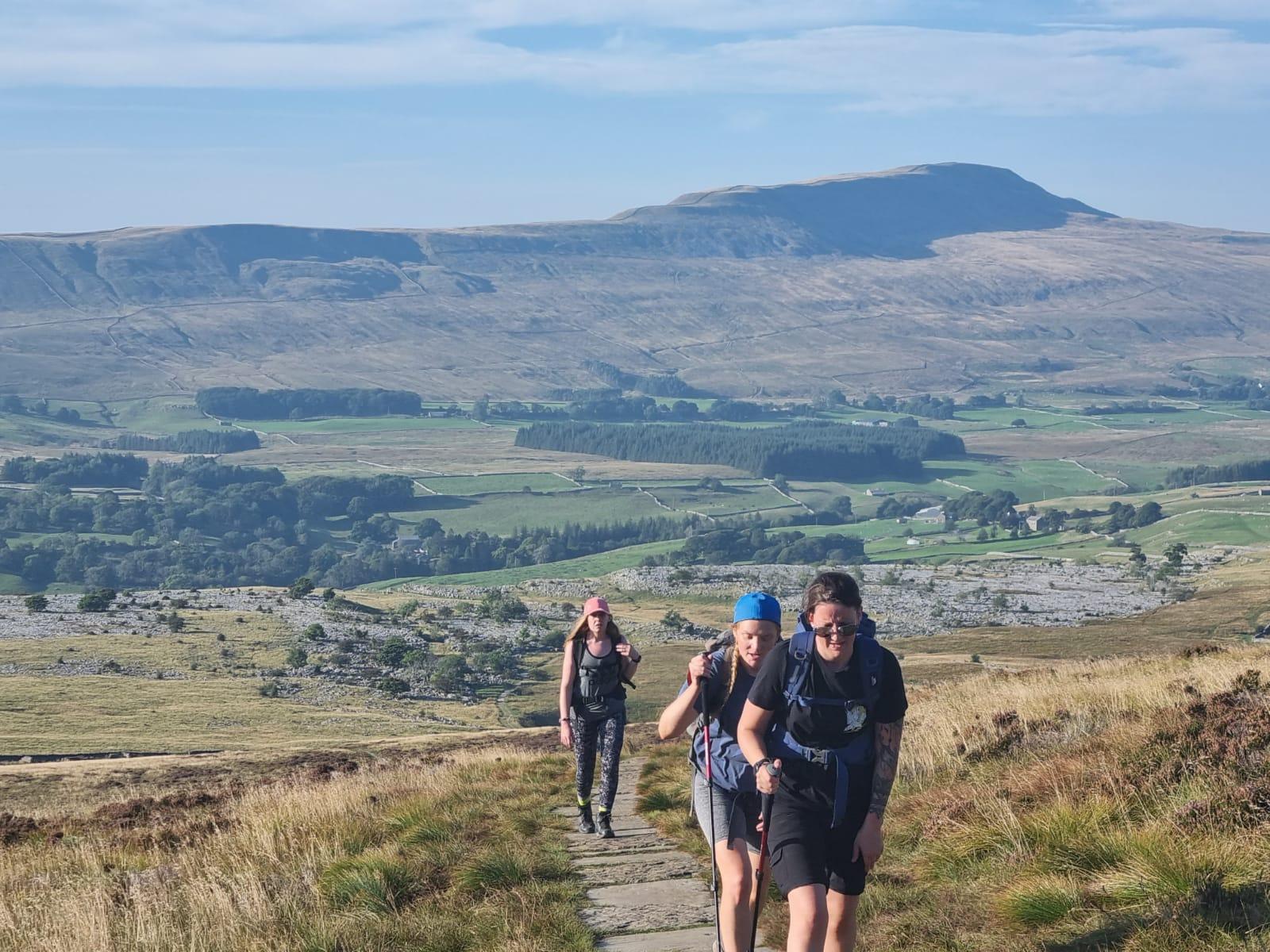 North Yorkshire Horizons hiking